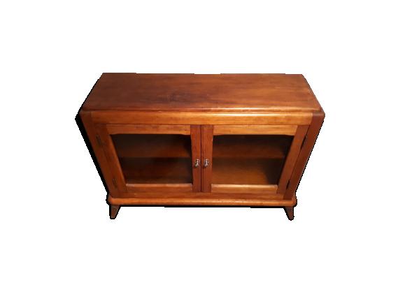 buffet bas ann es 50 bois mat riau bois couleur bon tat vintage. Black Bedroom Furniture Sets. Home Design Ideas