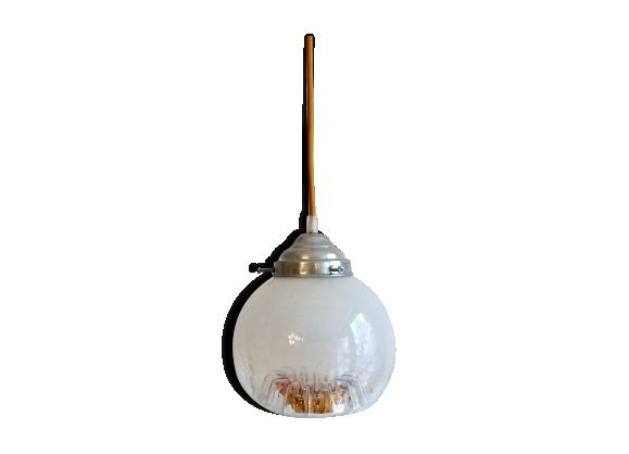 suspension globe luminaire. Black Bedroom Furniture Sets. Home Design Ideas