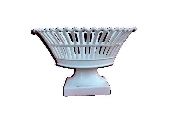 Coupe empire en porcelaine de Paris XIX eme