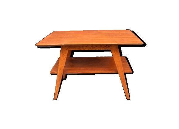 Table basse double plateaux 1960