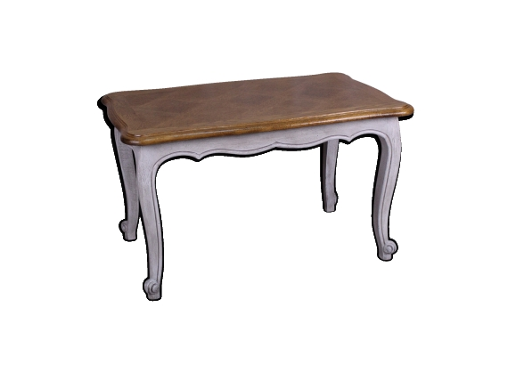 « Antoinette > table basse en chêne massif