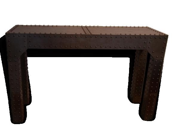grande console achat vente de grande pas cher. Black Bedroom Furniture Sets. Home Design Ideas