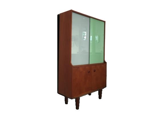Meuble avec portes coulissantes 1960s