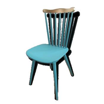 Chaise de couleur bleue vintage d 39 occasion - Chaise vintage occasion ...