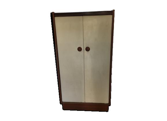 armoire scandinave bois mat riau marron bon tat scandinave. Black Bedroom Furniture Sets. Home Design Ideas