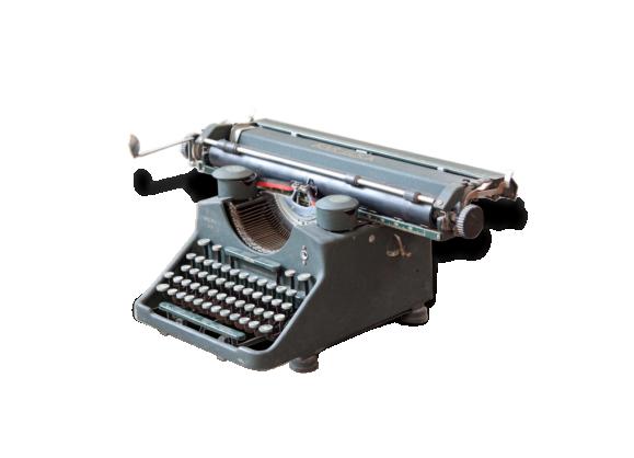 Machine à écrire Bar-Lock modèle 22 (A3)