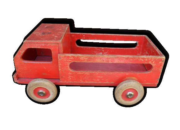 Camion en bois vintage