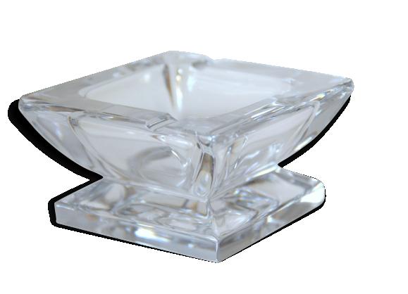 cendrier en cristal de s vres verre et cristal transparent bon tat vintage 102756. Black Bedroom Furniture Sets. Home Design Ideas