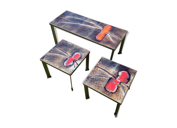 Table basse plateau en ceramique - Table basse ouvrante ...