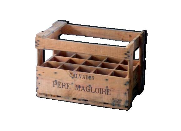 Porte-bouteille en bois père magloire