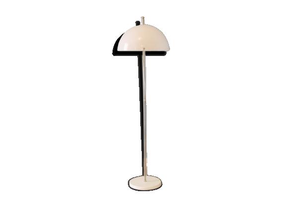 lampadaire vintage scandinave 1960 m tal blanc bon tat scandinave. Black Bedroom Furniture Sets. Home Design Ideas