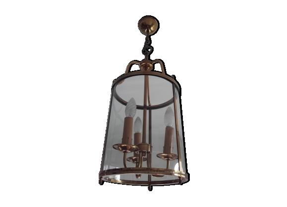 Laiton Antique mini lanterne de style marocain