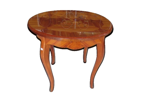 Table ronde style Louis XV
