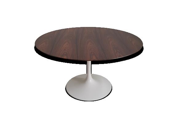 table tulipe knoll international en palissandre 137 cm. Black Bedroom Furniture Sets. Home Design Ideas