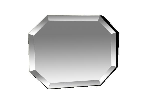 Miroir biseaut achat vente de miroir pas cher for Miroir octogonal