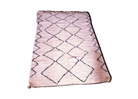 tapis marocain kilim 235 x 160 cm tissu multicolore bon tat thnique. Black Bedroom Furniture Sets. Home Design Ideas
