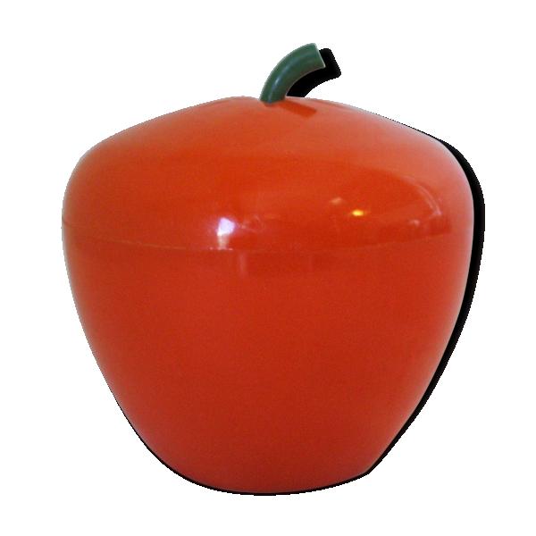 Bac gla ons pomme ann es 70 plastique orange - Caisse de pomme a vendre ...