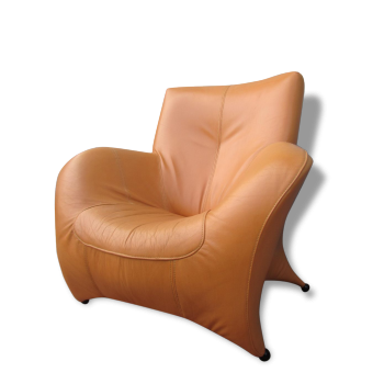 Fauteuil cuir, leather lounge chair
