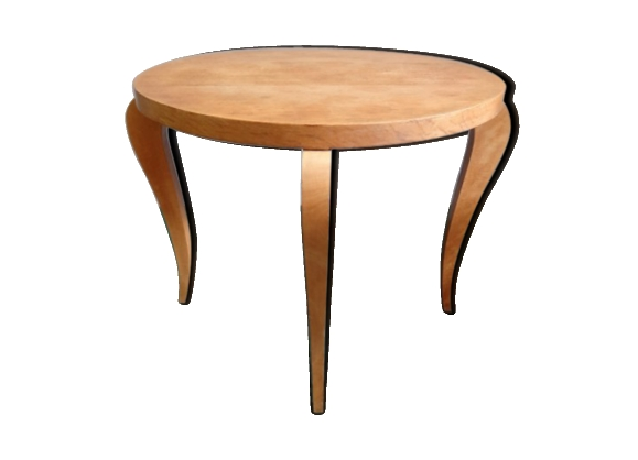 Table basse bois clair - Table ronde bois clair ...