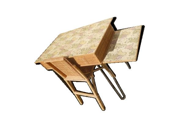 Chaise osier chaise de bureau rotin étonnant banc rotin luxe