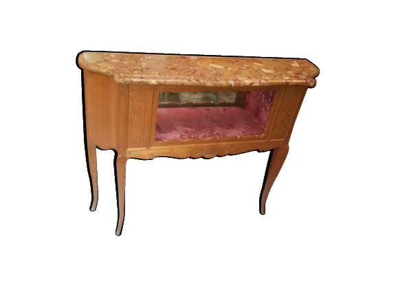 Vitrine console style Louis XV