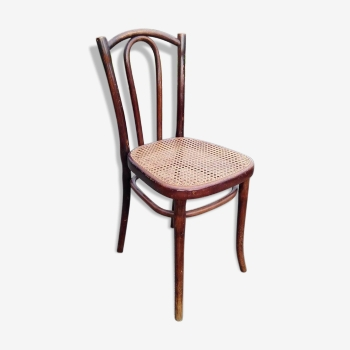 Michael thonet meubles sign s michael thonet vintage d for Chaise bistrot ancienne