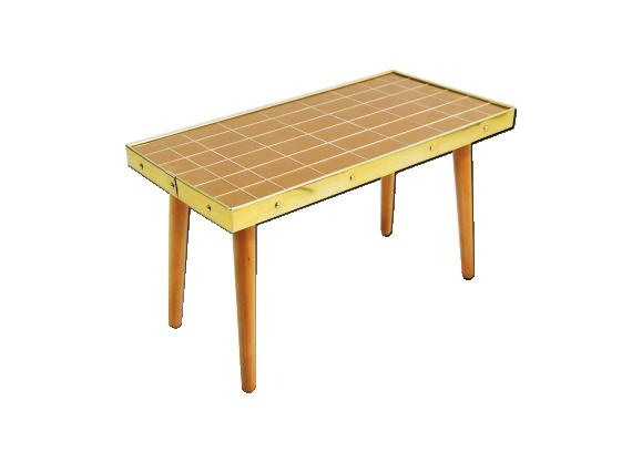 Table basse en mosaïque de verre 1960s