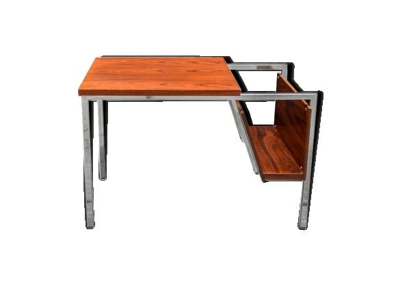 Table basse porte revue palissandre