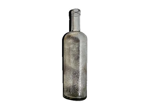 Bouteille ancienne en verre granité 50 cl