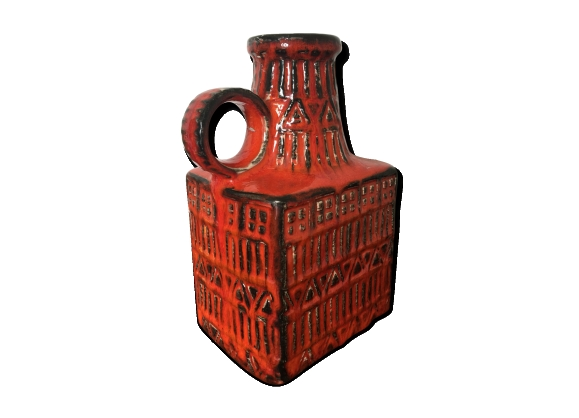 Vase céramique Bay West Germany années 50 60