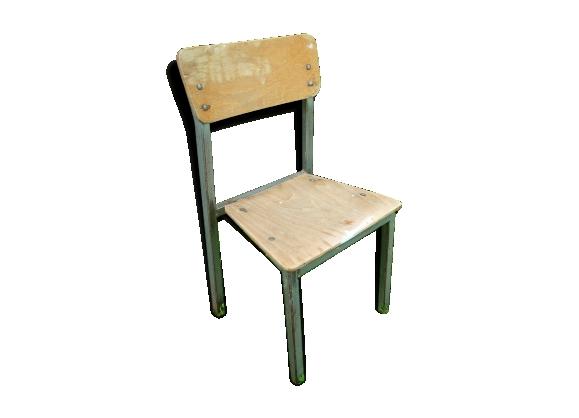 chaise vintage m tal. Black Bedroom Furniture Sets. Home Design Ideas