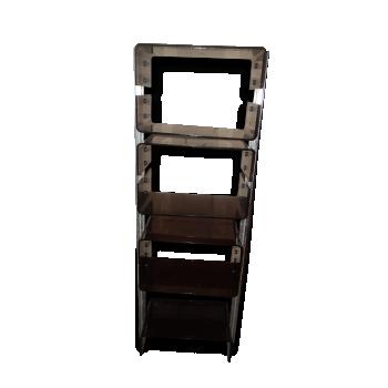 etag re 1960 string tomado vintage m tal noir et dor. Black Bedroom Furniture Sets. Home Design Ideas