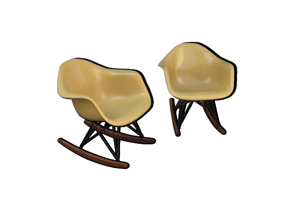 Paire de rocking-chair RAR Eames - Herman Miller