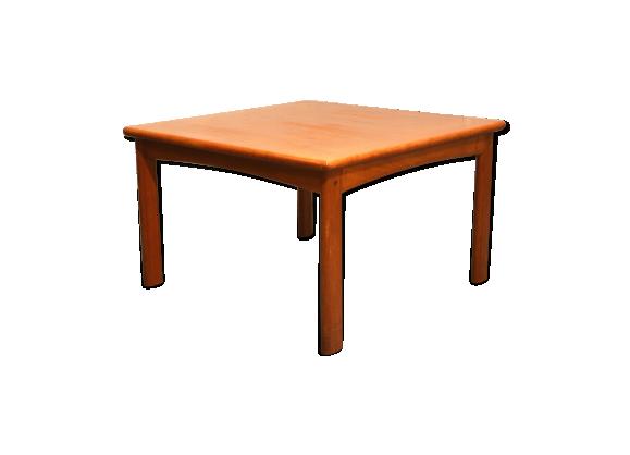 Table basse scandinave en teck teck bois couleur for Table basse scandinave couleur