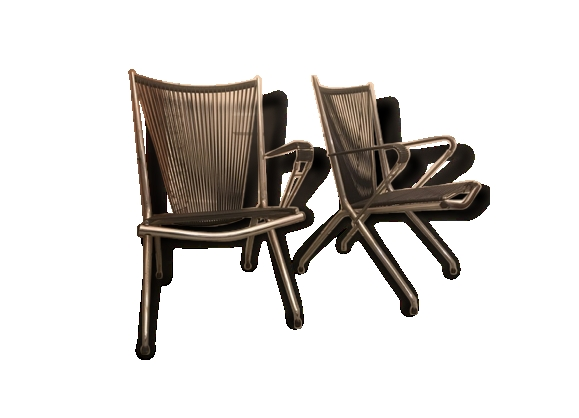 French sixties folding chairs