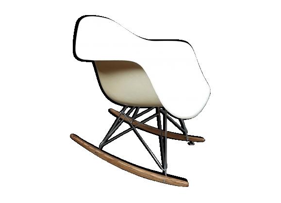 Eames RAR, rocking chair en fibre de verre pour Vitra,1970s