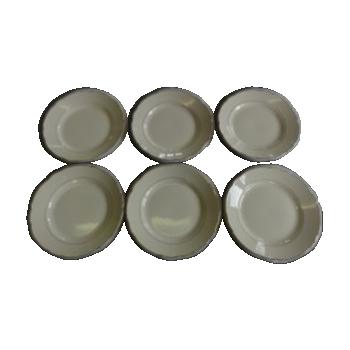 Assiettes en fa ence vintage d 39 occasion for Ar 11 6 table 6 2