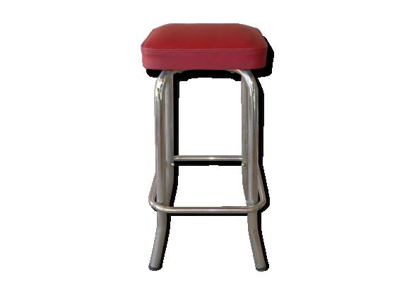 tabouret vintage de bar ska rouge dans son jus vintage f0697e3aac9. Black Bedroom Furniture Sets. Home Design Ideas