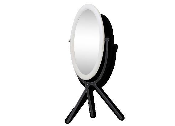 Miroir vintage ann es for Miroir sur pied 50 cm