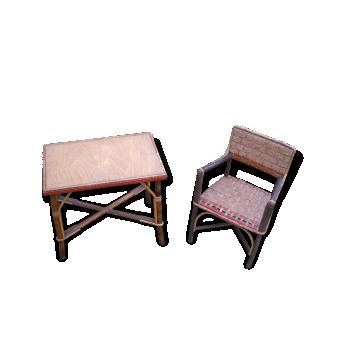 Chaise chaise haute for Petite chaise en bois pour bebe