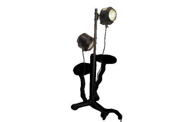 Projecteur cinema cremer lampadaire double