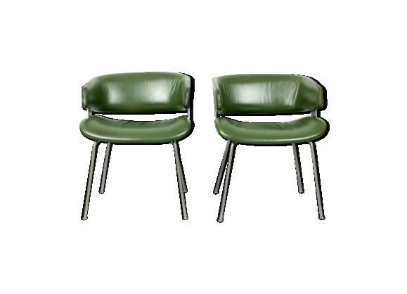 Lot de deux fauteuil F63 Geoffrey Harcourt pour Artifort