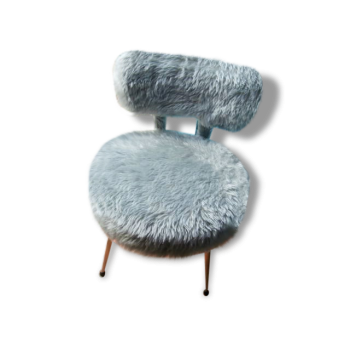 repose pied pouf ottoman style vintage d 39 occasion. Black Bedroom Furniture Sets. Home Design Ideas