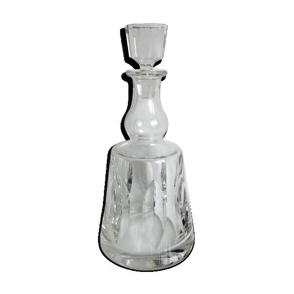 carafe vin en cristal de saint louis mod le jersey verre et cristal transparent bon. Black Bedroom Furniture Sets. Home Design Ideas