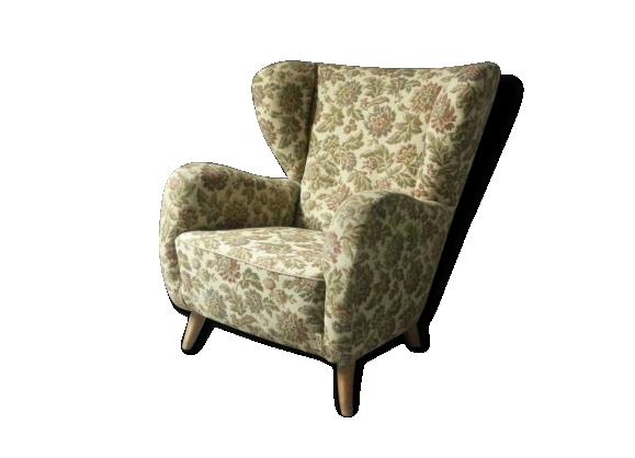 Fauteuil xxl a oreilles , Bergere wing chair style Fritz Hansen Flemming  Lassen Wingback Armchair