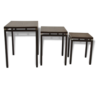 Tables gigognes vintage d 39 occasion - Tables gigognes bois ...