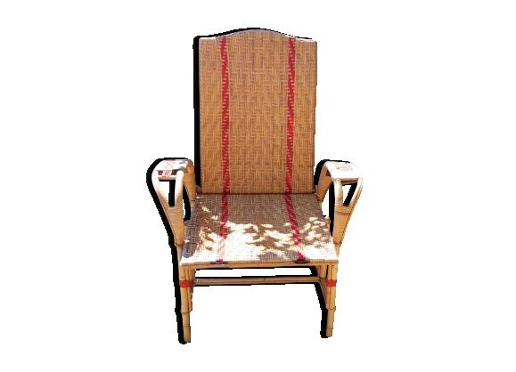Chaise longue vintage repositionnable