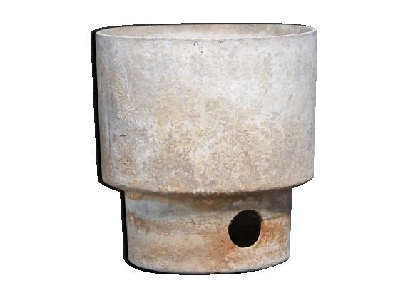 Jardinière en fibro ciment années 70