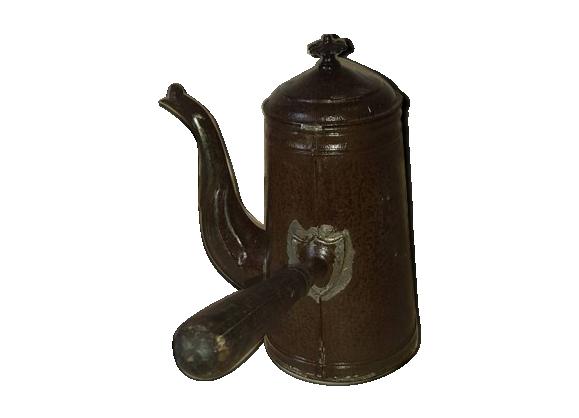 Chocolatière cafetière ancienne en métal