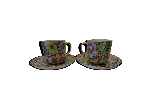 Joli duo de tasses chinoises